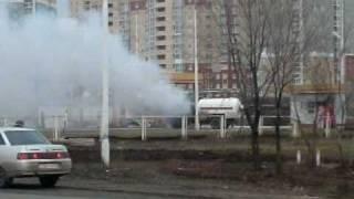 Пожар на газовой заправке. Загородное шоссе, 2.avi