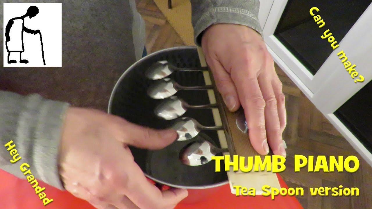 Thumb Piano Tea Spoon version