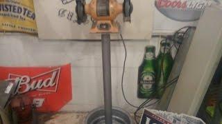 Diy Bench Grinder Stand