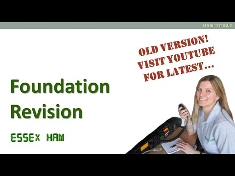 UK Amateur Radio Foundation Revision Guide