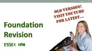 UK Amateur Radio Foundation Revision Guide