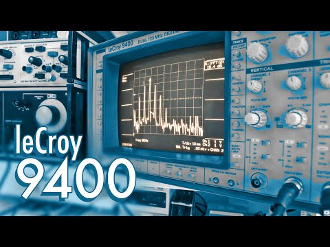 LeCroy 9400 FFT Modulation, Overtones & Transients | Spectrum Analyzer | Audio Generator