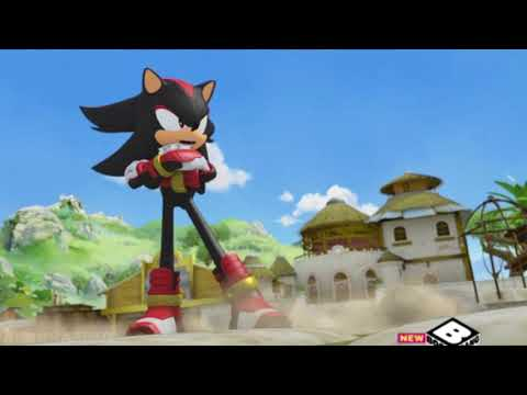 Sonic vs Shadow but every time they hit each other it gets faster
