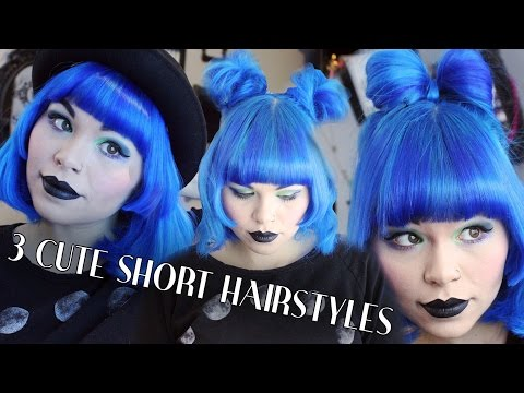 3-cute-hairstyles-for-short-hair-❤-hello-batty-❤