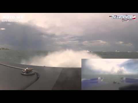 2nd Amendment Offshore Racing Sarasota 2014 Full Race GoPro Split