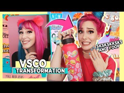 Tranforming Into the ULTIMATE VSCO Girl | How To Be A VSCO Girl