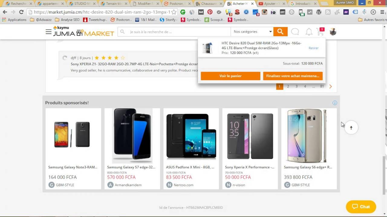 Ajouter au panier Jumia market - YouTube bf906f8e8f13