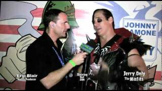 The Misfits  Jerry Only talks w Eric Blair about Johnny Ramone, & The Mistfits