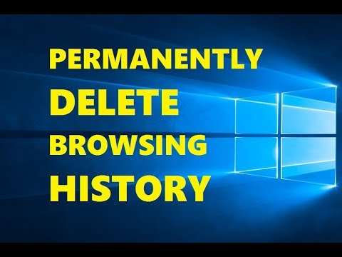 How to Clear History on Internet Explorer from YouTube · Duration:  2 minutes 55 seconds