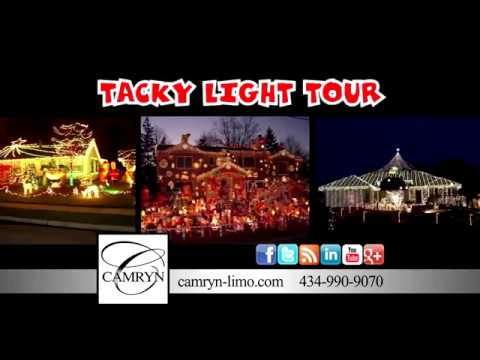 Tacky Lights Tour Richmond Va By Camryn Limousine Youtube