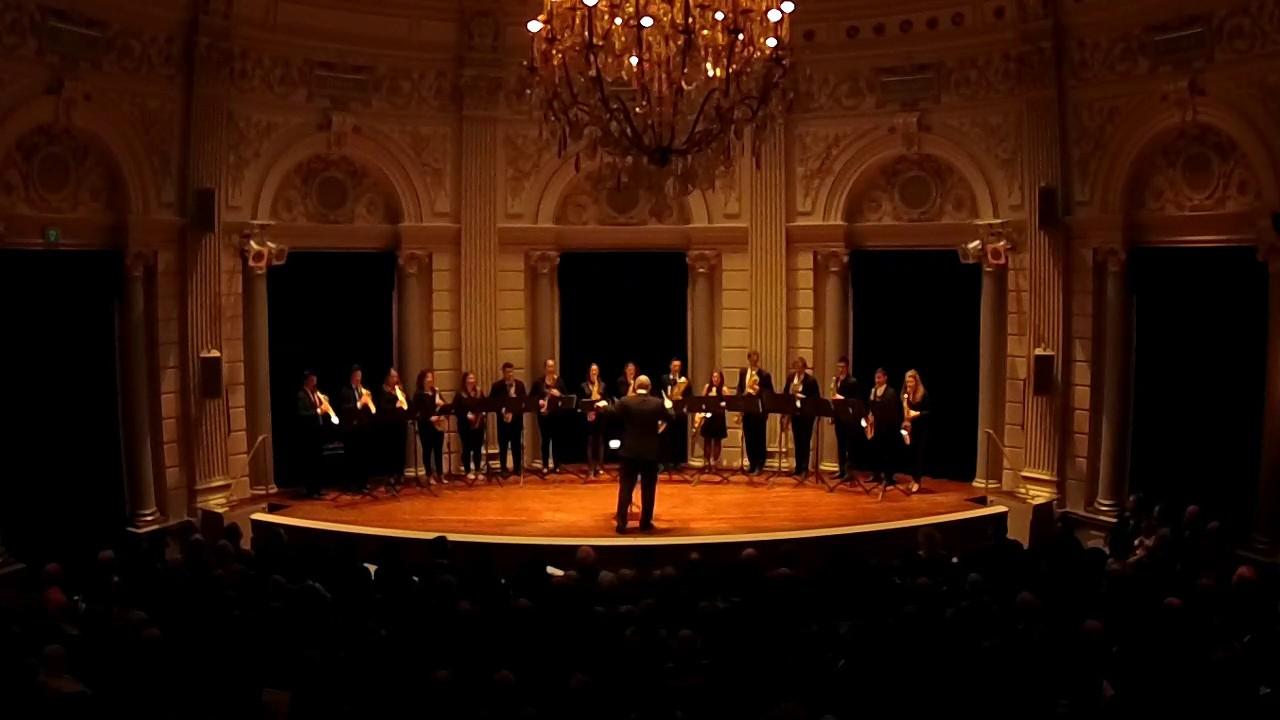 Romanian Christmas Carols - Bartók - Fontys Saxophone Ensemble