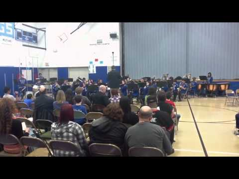 Marquardt Middle School Symphonic Band - Fireflies