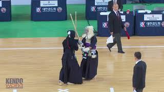 #42 Women's Team Preliminary Heats: Mexico vs. Japan - 17th World Kendo Championships (2018)