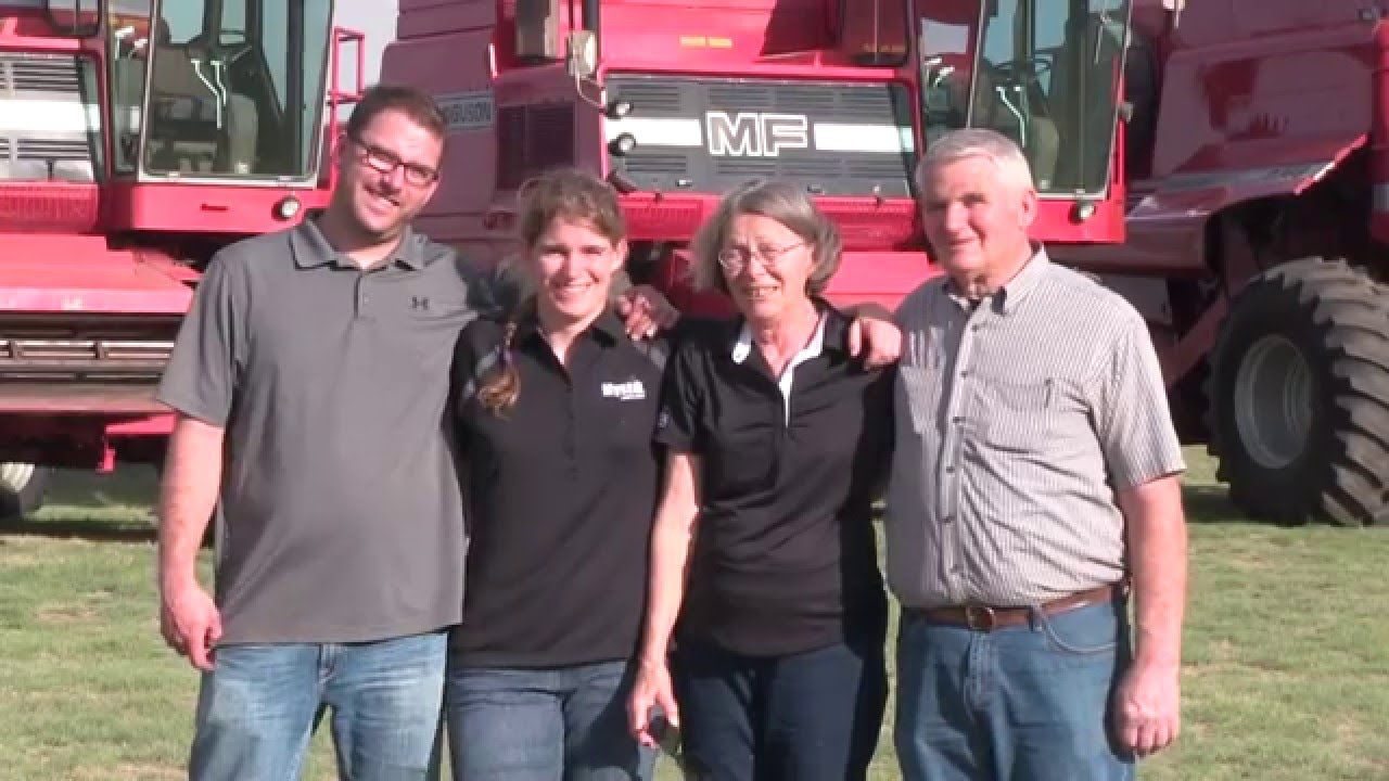 Meet the Heils: Custom Harvesting Family Keeps Moving, No Matter The Odds