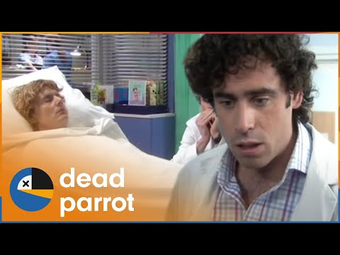 Green Wing | Series 2 Episode 1 | Dead Parrot