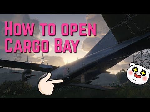 Gta V - How to open Cargo Bay Doors !