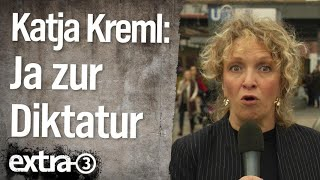 Reporterin Katja Kreml: Sehnsucht nach autoritärer Führung