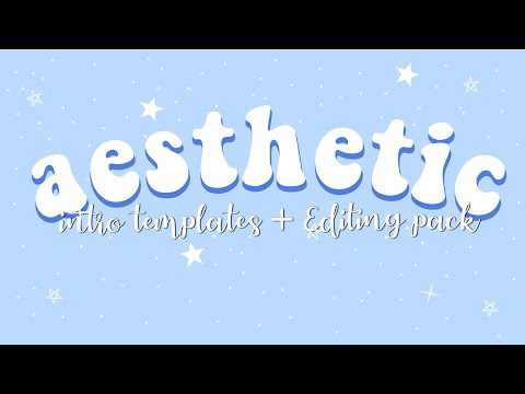 Download *AESTHETIC* INTRO TEMPLATES (no text and free) + Editing ...