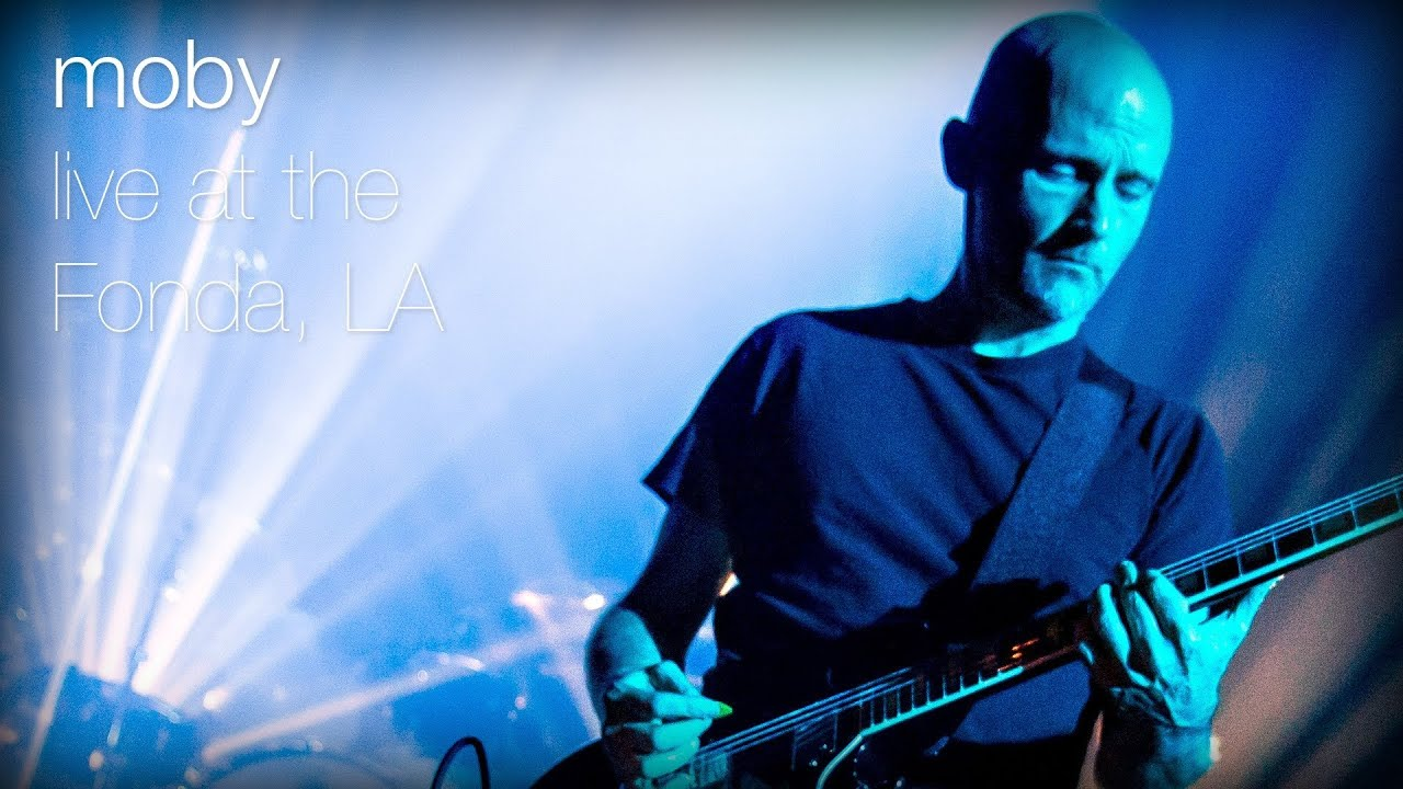 Moby we are all made of stars live at the fonda l a youtube
