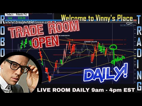 💥 Live Day Trading Room Streaming - Vinny Emini 💥 LEARN | CODE | TRADE