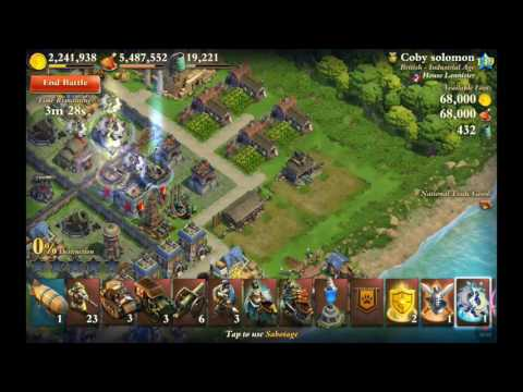 Dominations industrial war attack  4