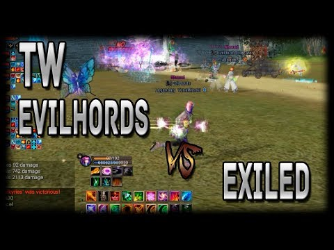 PWI- Perfect World TW EvilHords vs EXILED 16/09/2017