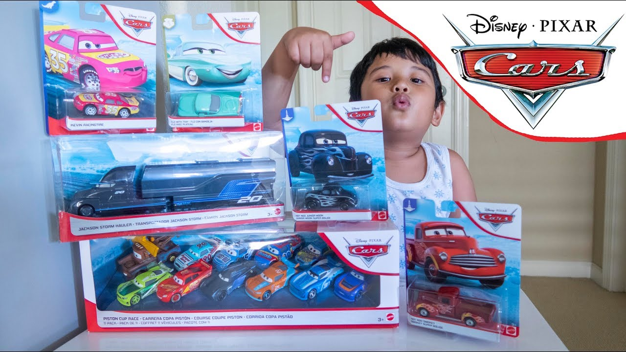 Unboxing Disney Cars Toy Haul 2019 Blue Desert Series Hot Rod
