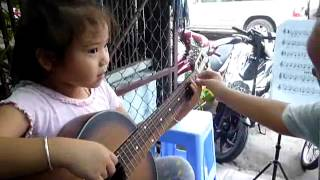 thieu nhi dan guitar