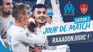 VIDEO: OM 2-1 Brest l Les coulisses de la victoire