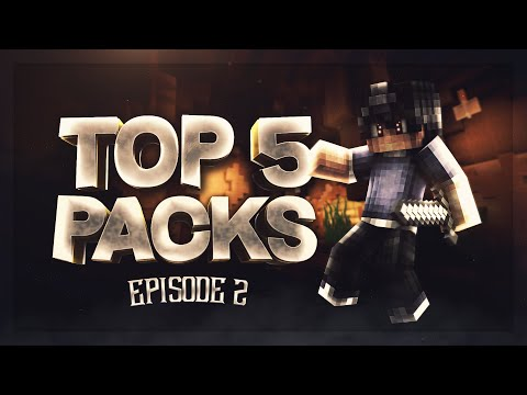 TOP 5 MINECRAFT PVP TEXTURE PACKS: EPISODE 2 [1.7/1.8]