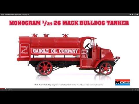 Revell 1926 Mack Bulldog Tanker Truck | 1/24 Scale Kit