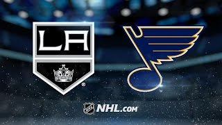 Blues defeat Kings in overtime