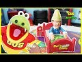 DON'T WAKE DADDY IRL CHALLENGE Family Fun Games for Kids Gus the Gummy Gator
