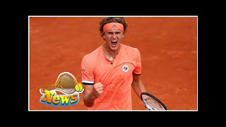 2018 french open: preoccupied zverev comes back from the dead