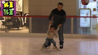 Первое катание на льду Вегас каток Влог The first ice skating rink Vegas