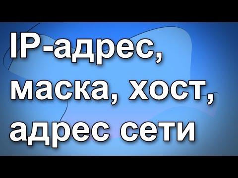 Что такое IP-адрес, маска, хост, адрес сети. Основы