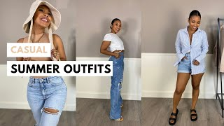 SUMMER OUTFIT IDEAS | CASUAL AND NEUTRAL SUMMER OUTFITS