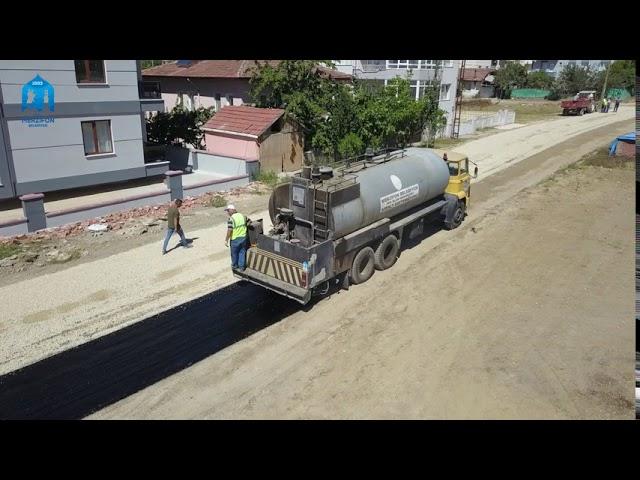 Gözde Sokak ve Çağla Sokak Sathi Asfalt Kaplama Çalışmamız