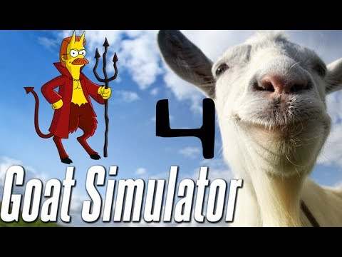 GOAT SIMULATOR (4) | DEMON JETPACK GOAT IN SPACE! | ABDUCTED BY ALIENS!