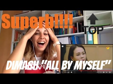"""Dimash Singing """"All By Myself"""" Video Reaction"""
