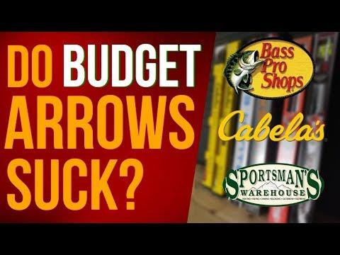 Archery Review Arrow Comparison - Budget VS Expensive Arrows | Easton FMJ, Victory, Gold Tip