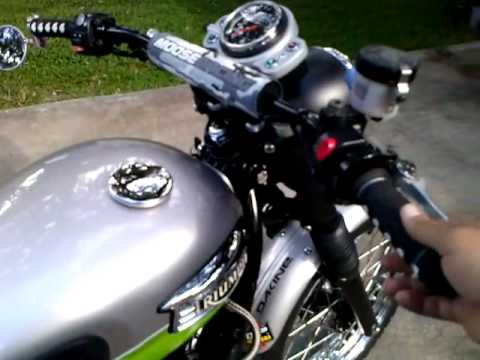 2007 Triumph Scrambler - YouTube