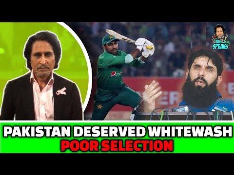 Pakistan Deserved Whitewash | POOR Selection | PAK vs SL 3rd T20