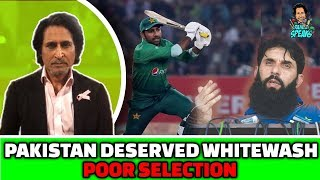 Pakistan Deserved Whitewash | POOR Selection | PAK vs SL 3rd T20