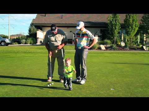 Putting Lesson — Learn better putting session 2
