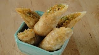 Instant Noodle Spring Roll | Sanjeev Kapoor Khazana