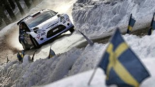 Winter Rallying in Sweden - FIA World Rally Championship 2015