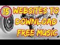 Best 15 Websites To Download Free Music