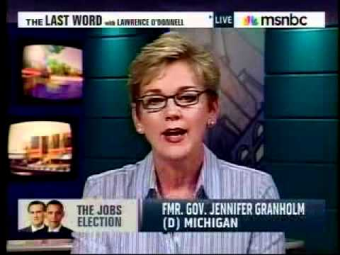Jennifer Granholm on Mitt Romney