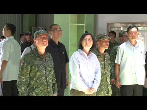 今日新聞/蔡英文總統視察涼山特勤隊(總統